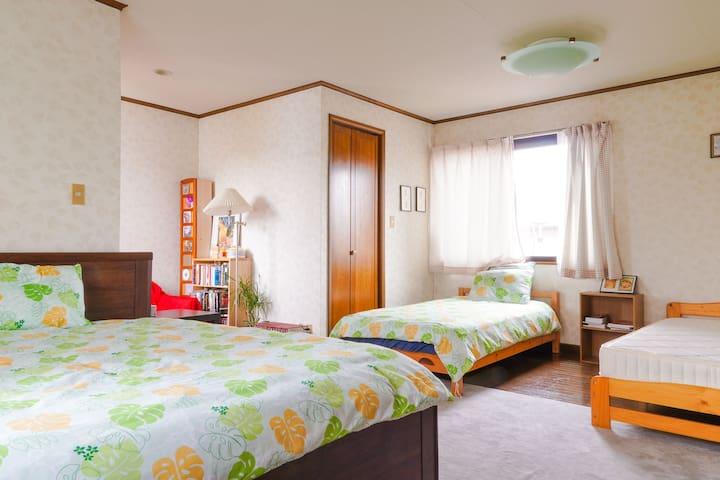 Quiet Western Room w/breakfast (Kyoto Osaka)
