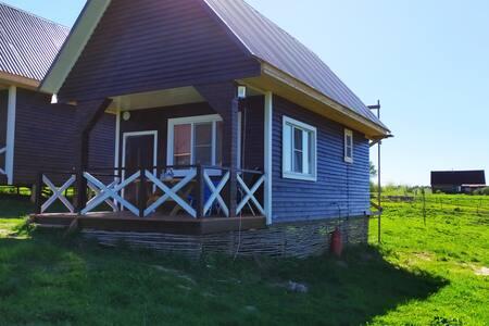 домик с причалом 50 кв метров