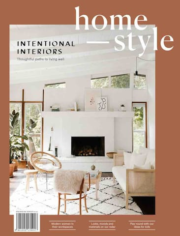 As seen in HOMESTYLE MAGAZINE, cover story, Jan 2019 (photo: Nicole Mason)