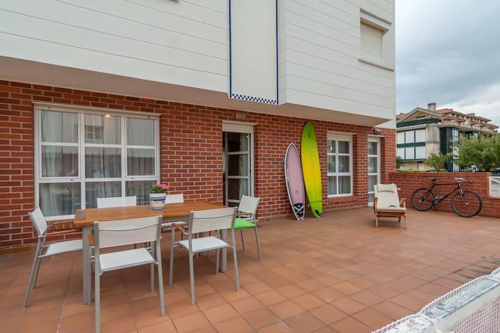 Somo Surf Duplex 3 dormitorios - Somo - Lägenhet