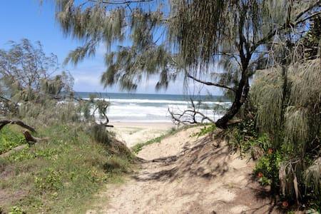 ON THE BEACH- 2brm oceanfront - Peregian Beach