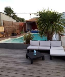 Villa/ 7pers proche Bord de mer La Rochelle - La Rochelle