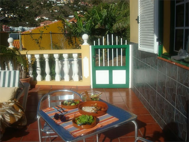 Valle gran Rey, peaceful appartment w 2terrasses - Valle Gran Rey - Apartment
