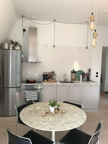 Top floor apartment in Central Stockholm