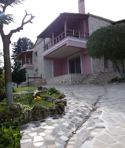 """Τhe Stone countryside Villa in Corfu"" 4-8 persons - Agios Vasilios"