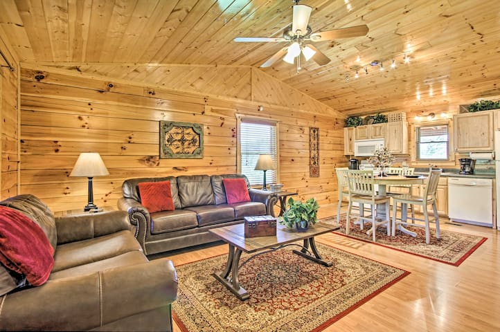 NEW! Sevierville Resort Cabin w/Hot Tub & Decks!