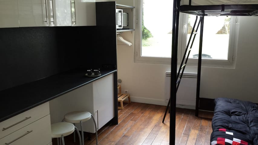PARIS ST MANDE STUDIO - QUIET WITH PRIVATE GARDEN, BOURGEOIS NEIGHBORHOOD - Saint-Mandé