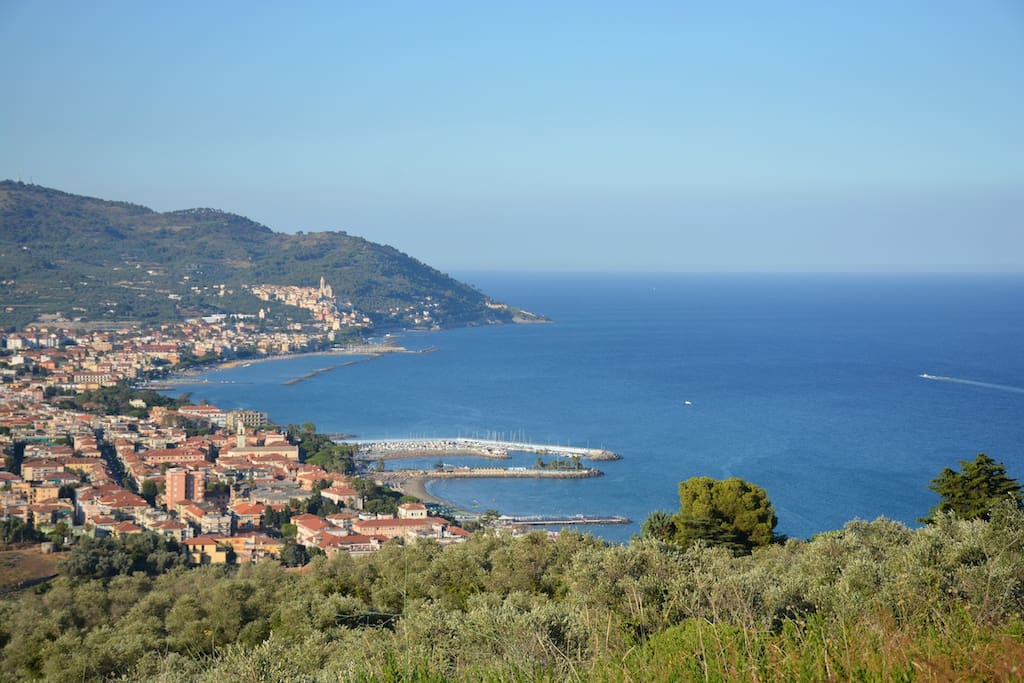 La vista mare / View from Garden / Meerblick
