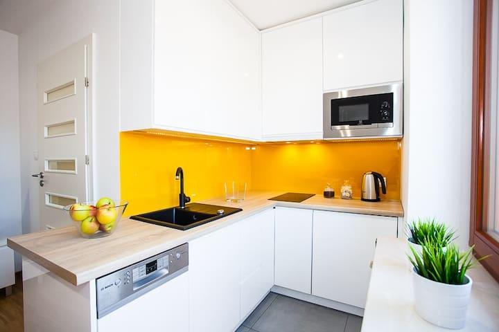 Sunny Apartment in Wieliczka