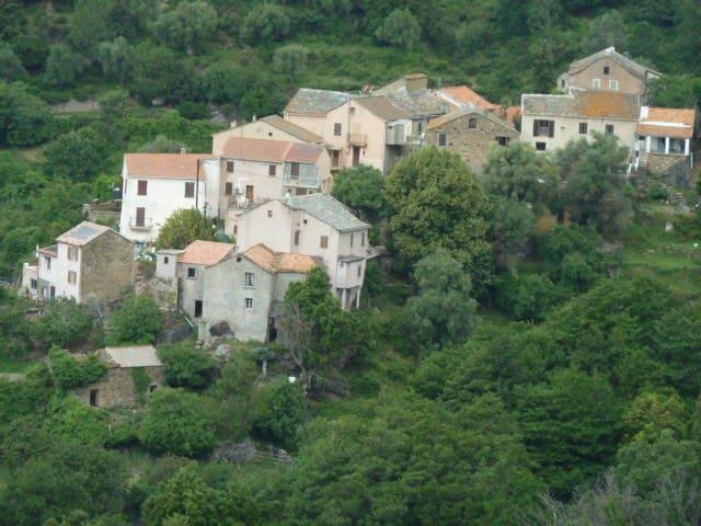 Entre montagne et mer, charmante maison de village