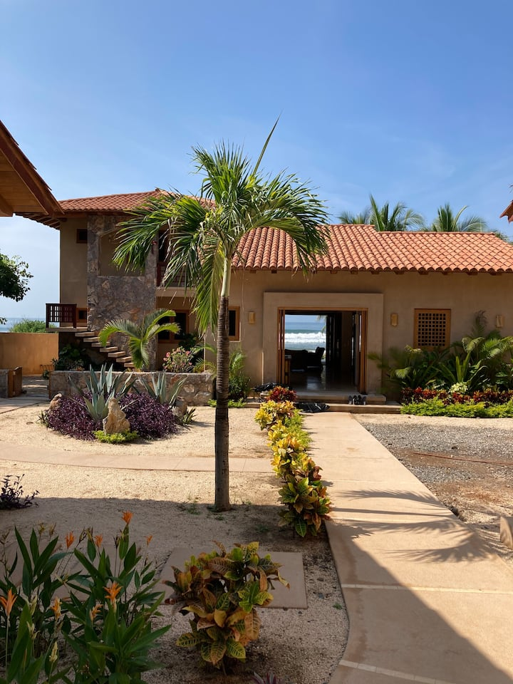 Beautiful new home with beach access steps away!