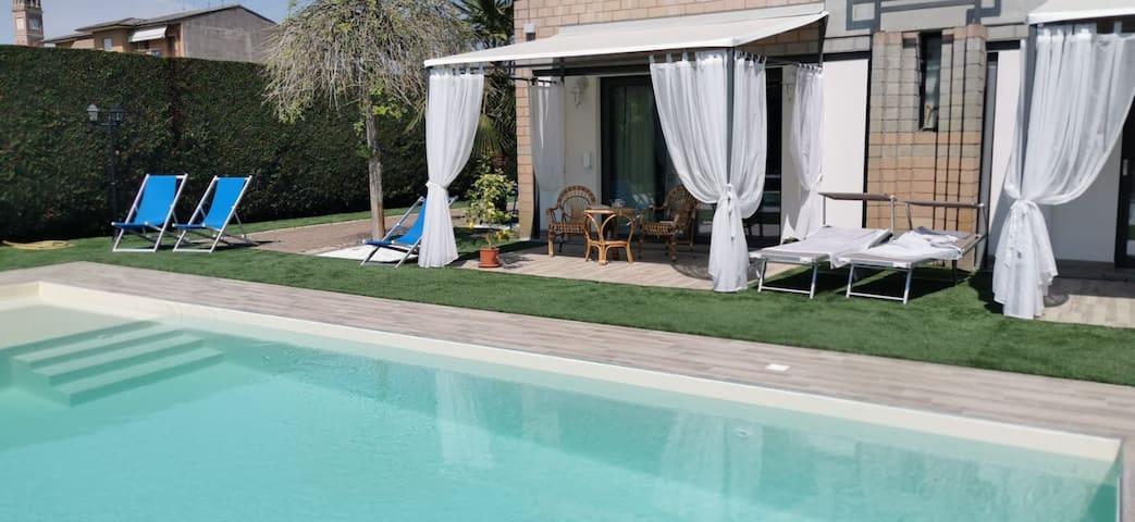 Veneto MiniSuite San Valentino CountryHouse piscin