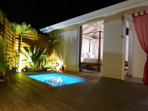 SAPOTILLE BUNGALOW med privat pool