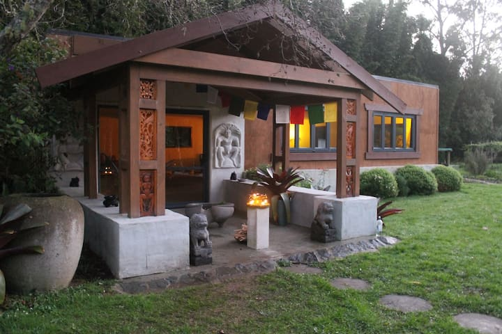 Silent Retreat Space at Tushita Hermitage