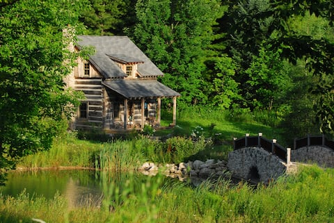 """Cozy 'Off the Grid"""" Rustic Cabin"""