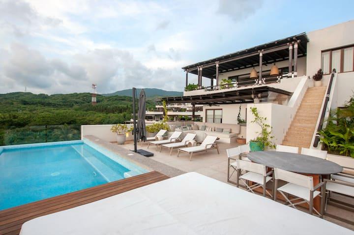 Los Veneros Punta mita, Luxury Penthouse.