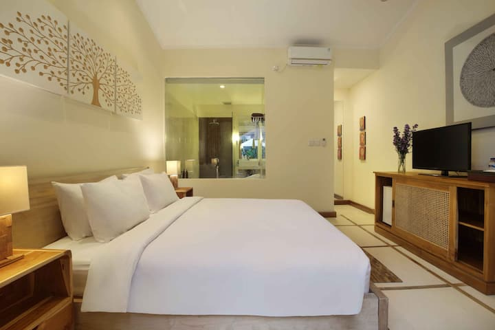 1 BEDROOM WITH POOL VIEW AT PRIVATE VILLA