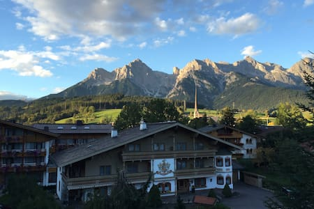 Cozy apartment with stunning view. - Maria Alm - Wohnung