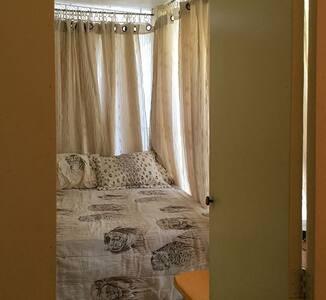 Tiny Cheerful Veranda Room for JWs volunteers! - Samana - Ev