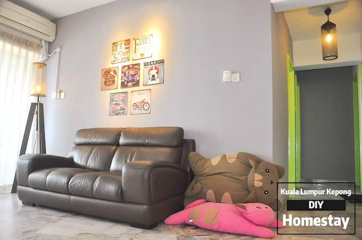 Kuala Lumpur Kepong DIY Homestay