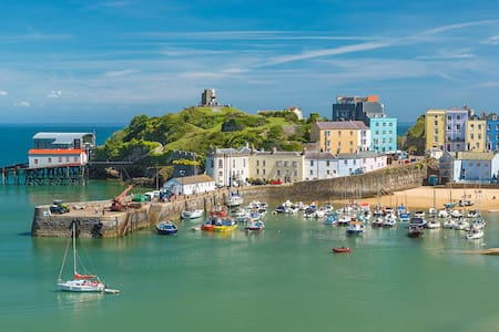 New - Monkstone Cottage, Tenby, Pembrokeshire - テンビー - 一軒家