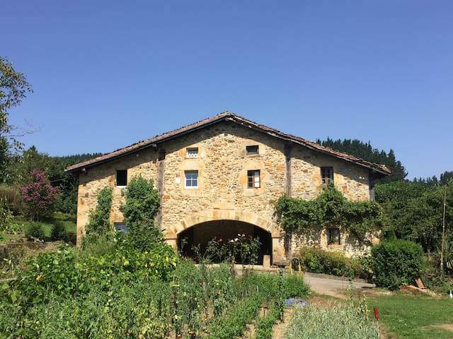 Awesome Homestead in wild nature of Basque Country
