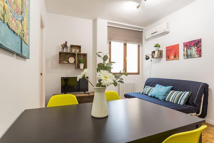 Sunny apartment El Rastro