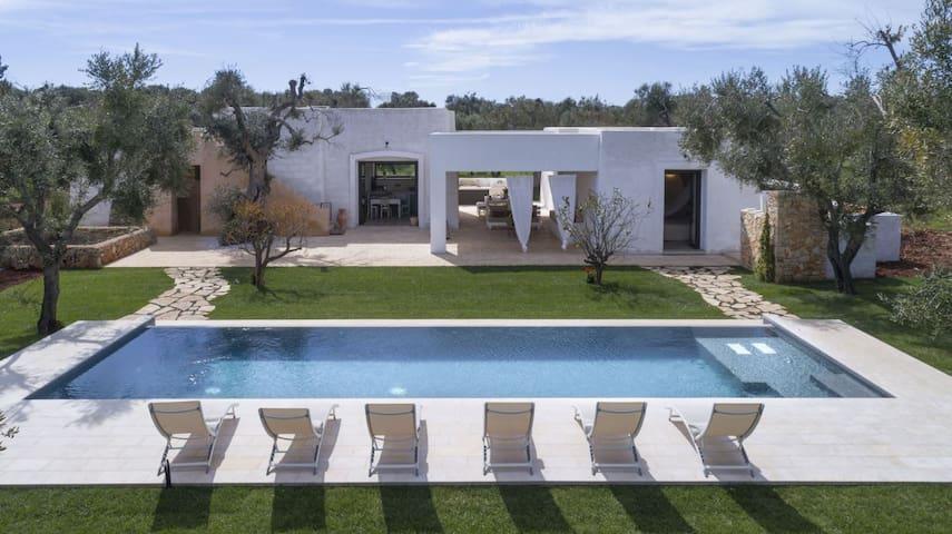 Villa Antico Quataru con piscina - Torre Vado