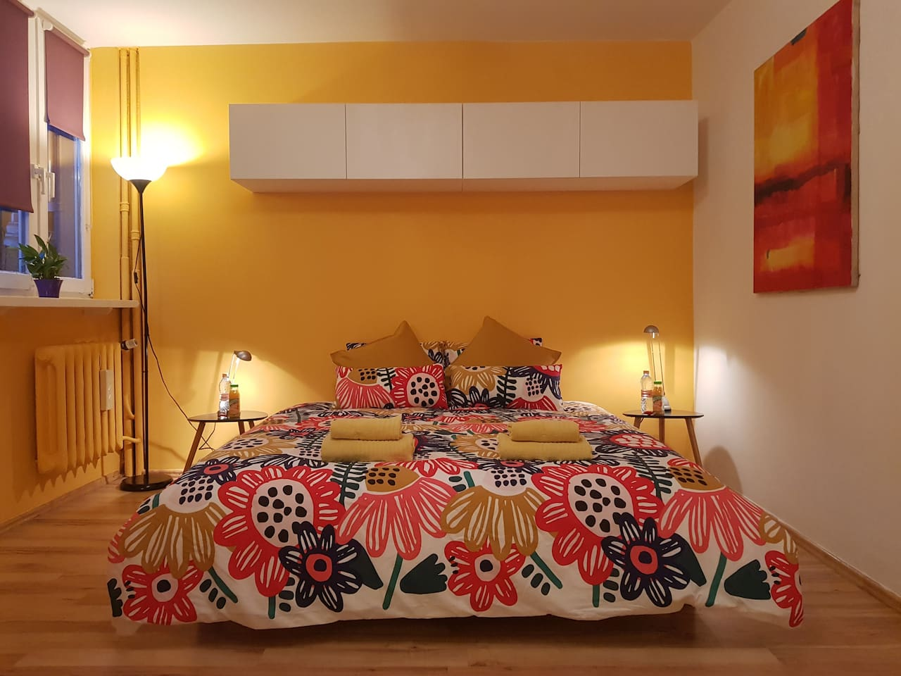 Bedroom, open space