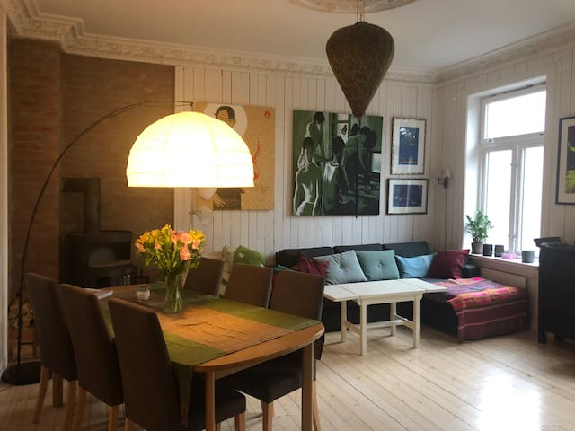 Soulful apartment in Oslo's Old Town