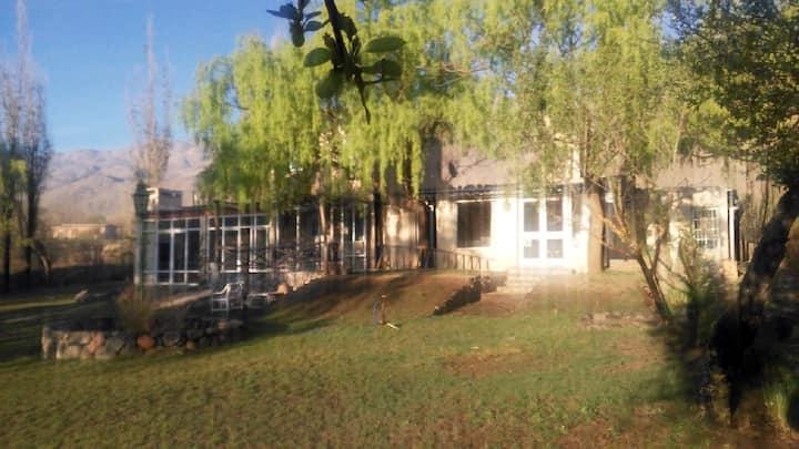 Calida casa de campo C/ Baño privado