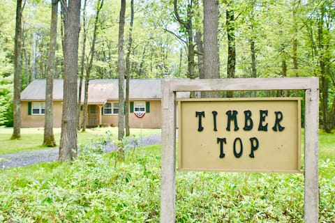Timber Top Cabin: WiFi + State Forest-Parks/Hiking