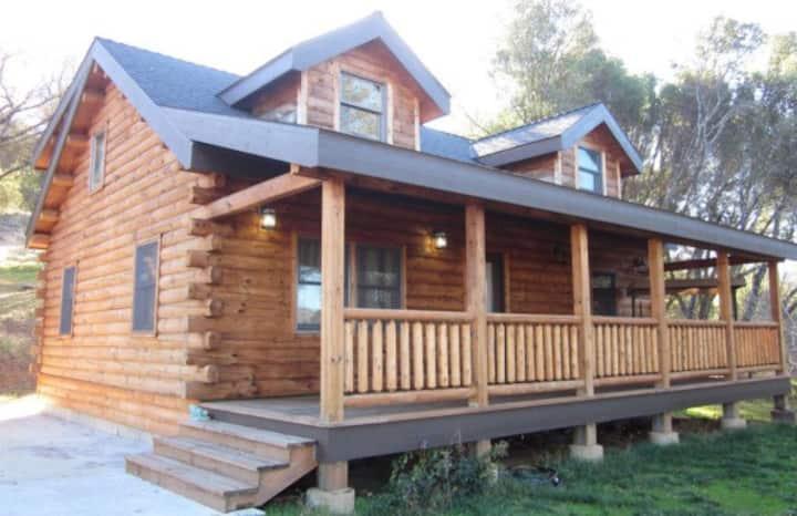 Terra Vita - Log Home 12 Acres! Yosemite/Bass Lake
