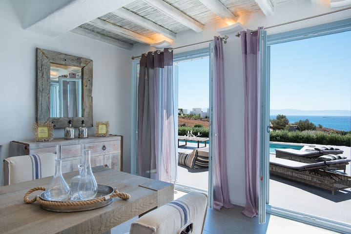 Aelia Luxury Villa with Shared Pool - Paros - Villa