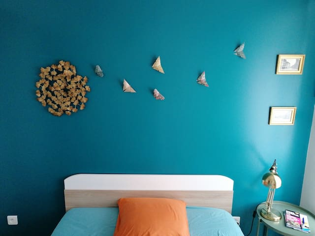 Jolie chambre dans espace privé