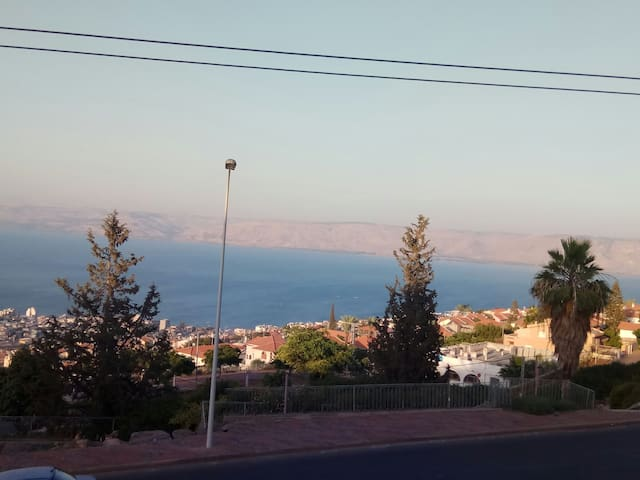 Viewing the magical Kinneret