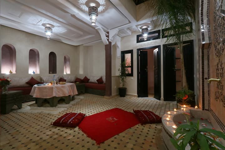 Charming room in luxury Riad