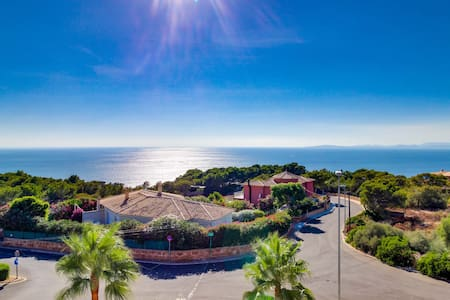 Villa Bona Vista · Stunning sea views & pool - Llucmajor