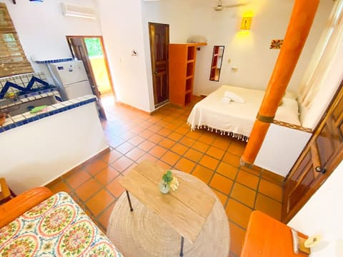 Maguey fully furnished studio 5min to the beach 3