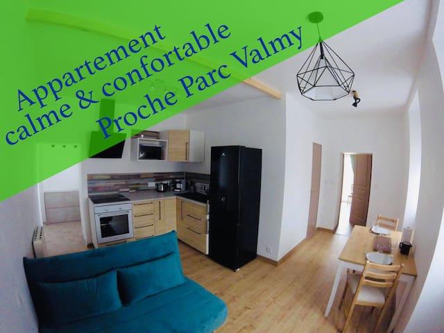 Appartement - Proximité Toison d'or & Parc Valmy