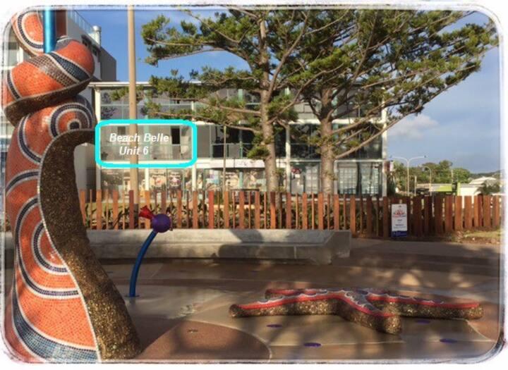 VIEWS | Main Beach | Waterpark | Lagoon | WIFI