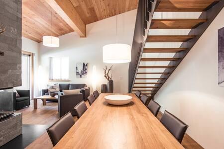 Familienwohnung im entstehenden Resort - Andermatt - Apartament
