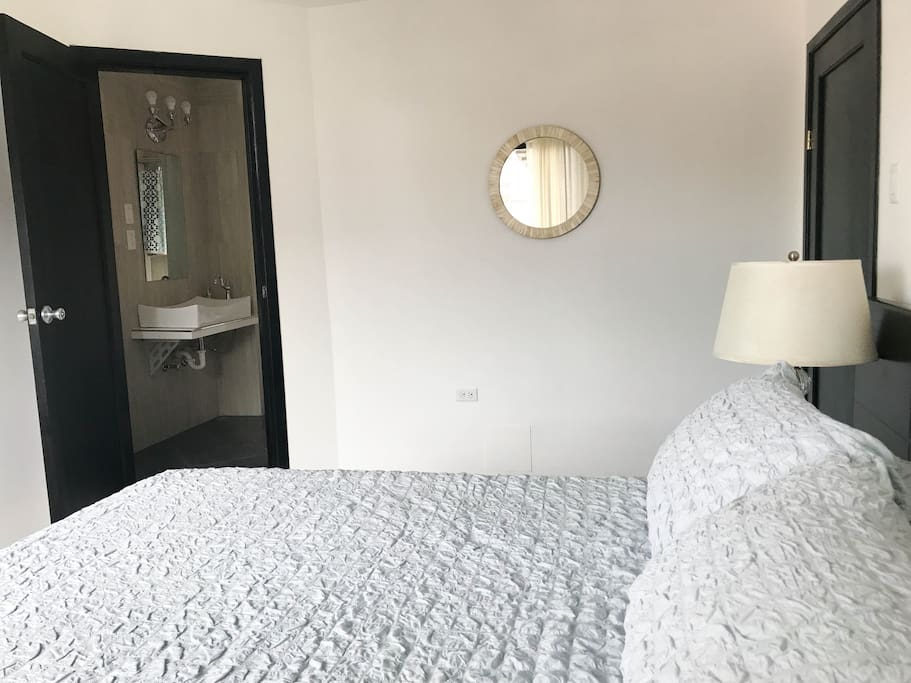 Bedroom 2 w/ its private bathroom