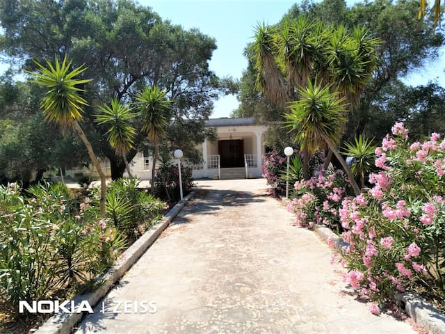LOVELY 3 BED GARDEN VILLA WITH POOL  NEAR THE SEA