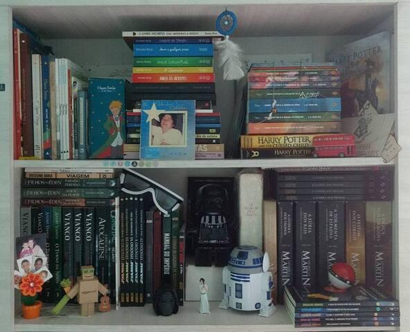 Room in my 'Cantinho Nerd'
