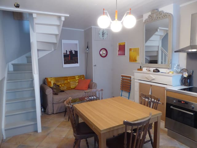 Charming little town house in Ars en Ré - Ars-en-Ré - ทาวน์เฮาส์