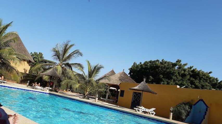 Villa Soleiman, situation exceptionnelle à Saly.