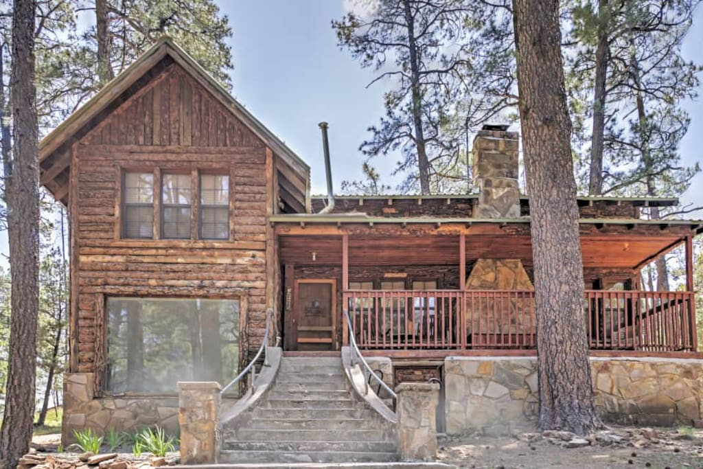 'Lookout Mountain Cabin' 4BR Ruidoso Cabin - Cabins for ...