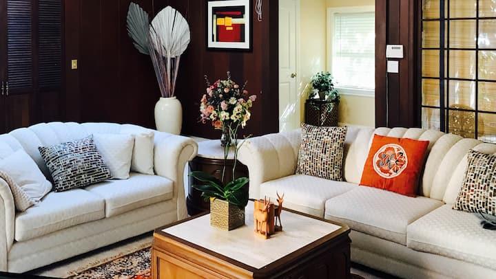 Luxury 4BD (3B+Bus)/3BA Home in San Mateo Near SFO
