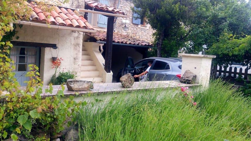 Ancienne bergerie aménagée 1h Nice - - Val-de-Chalvagne